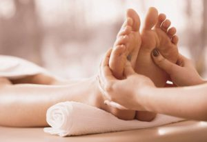 Various intricacies of a foot massage