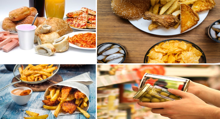 Effects of Processed Foods on Our Health